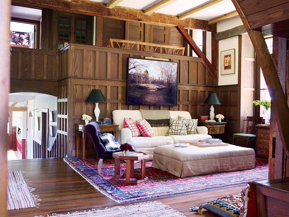 Inside Adam Lippess Berkshires Homefrom Vogue Magazine