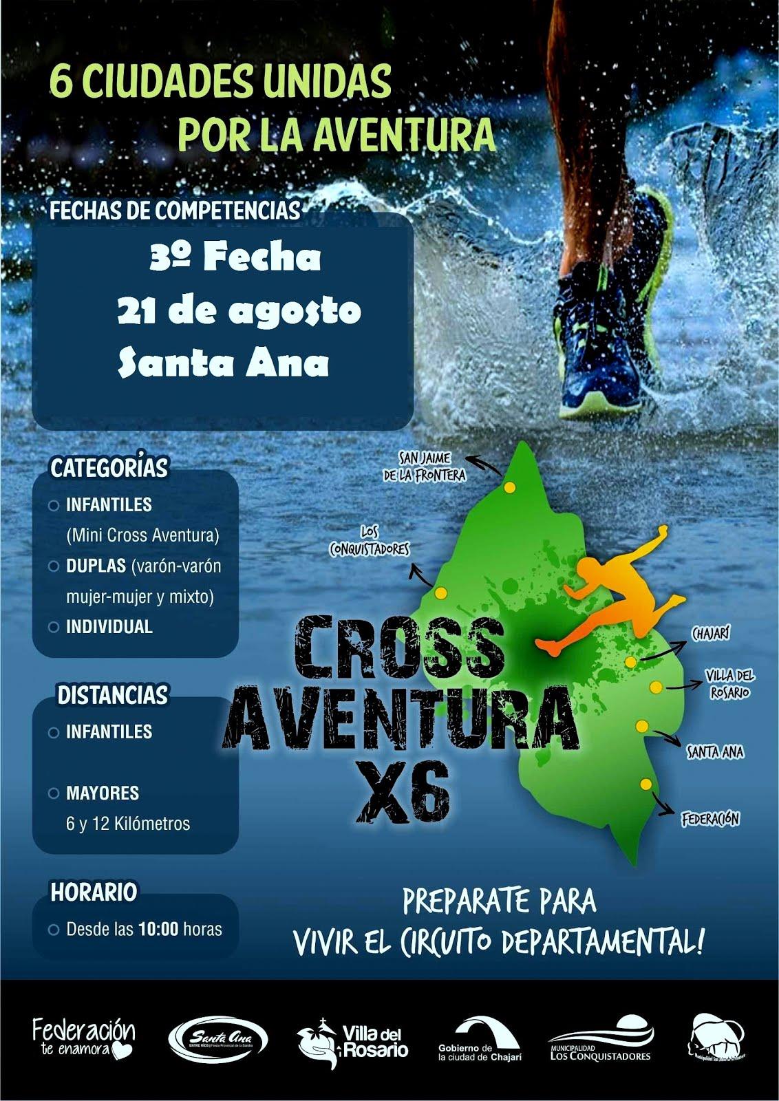 2º FECHA CROSS X 6 AVENTURA
