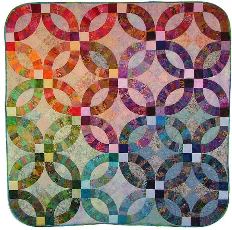 Quilt Inspiration: Wedding Ring Quilts (part 3): Virginia ...