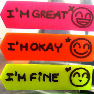 Display Pic Bbm - i'm great i'm okay i'm fine