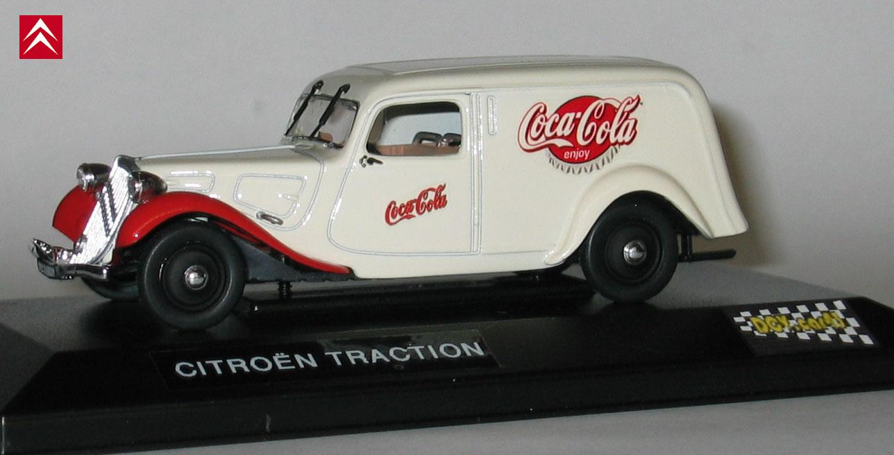 citroen traction coca cola