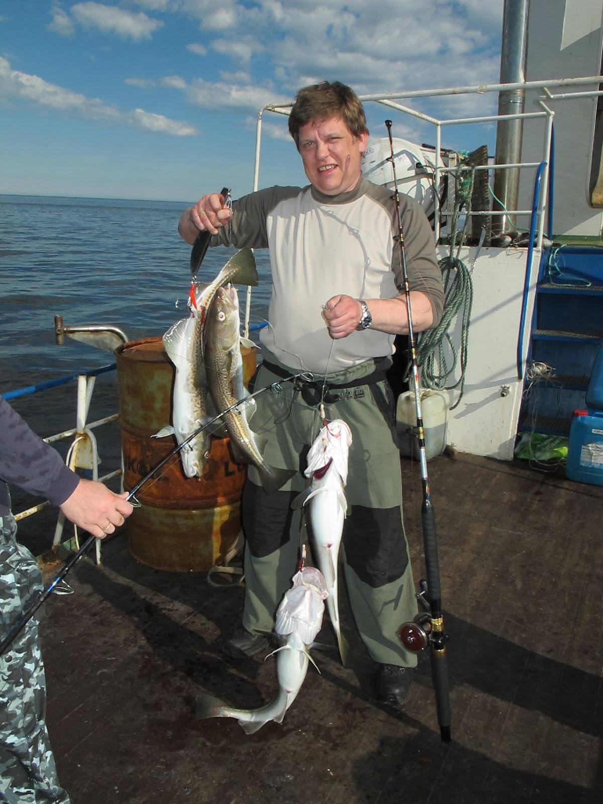 любительская рыбалка на море
