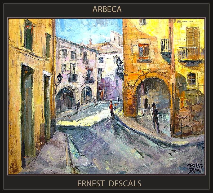 ARBECA-PINTURA-PAISATGES-LLEIDA-CATALUNYA-ARTISTA-PINTOR-ERNEST DESCALS