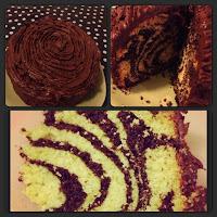 cake, stripes, marble cake, zebra cake, chocolate cake