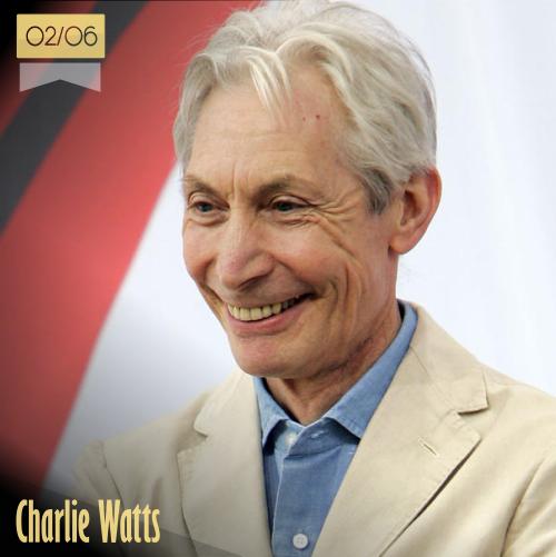 2 de junio | Charlie Watts - @RollingStones | Info + vídeos