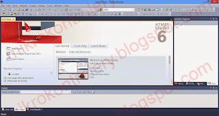 Atmel Studio - Środowisko programistyczne (IDE).