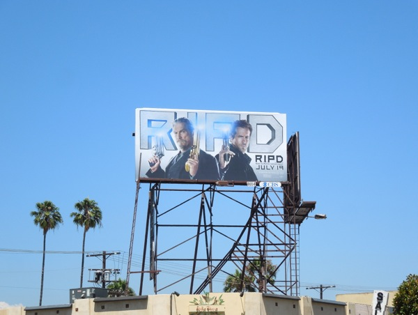 RIPD film billboard