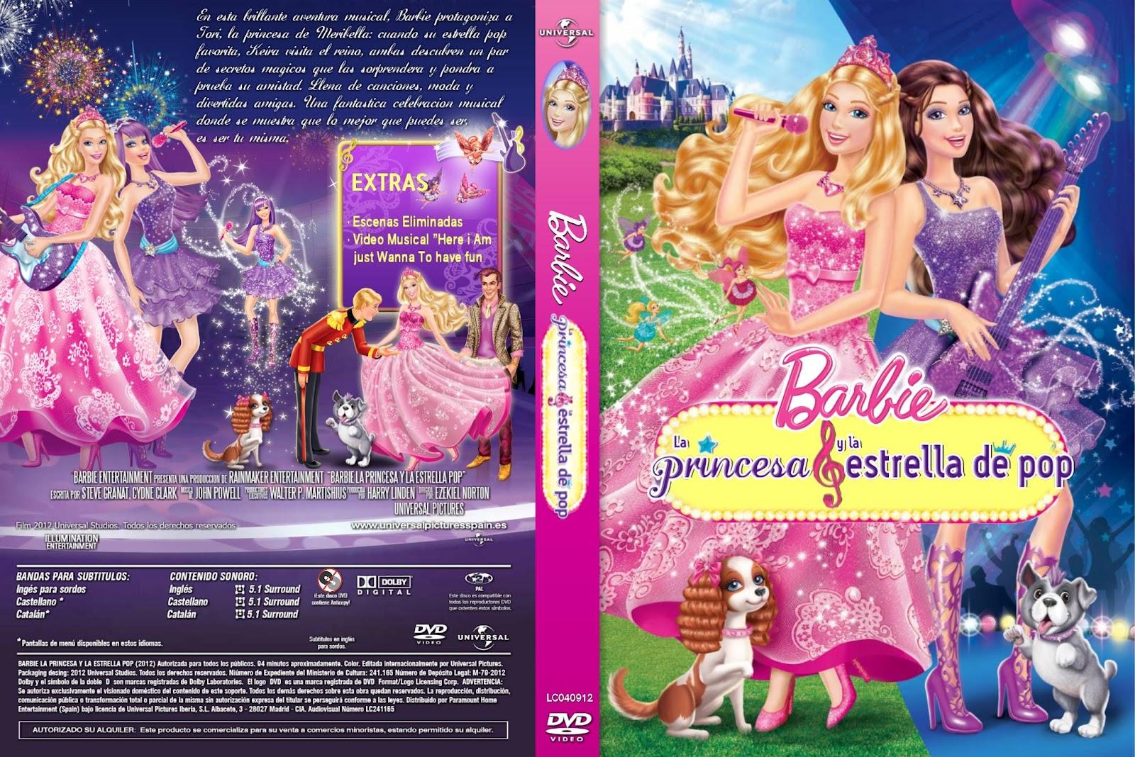 T  TULO ORIGINAL  Barbie The Princess And The Popstar