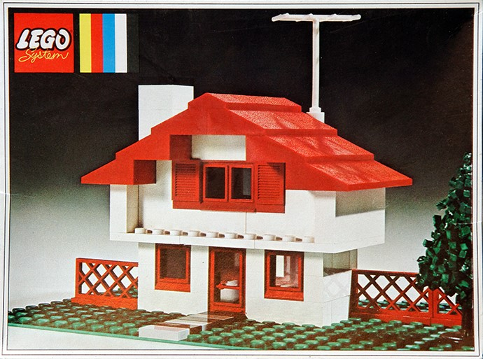 Steve 39 s lego blog the classic lego house for Classic houses images