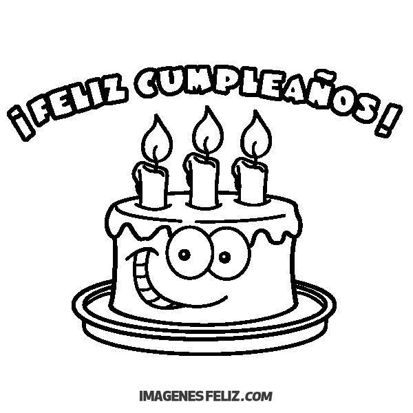 Feliz Cumpleaños Para Imprimir Imágenes. Frases Bonitas <img ...