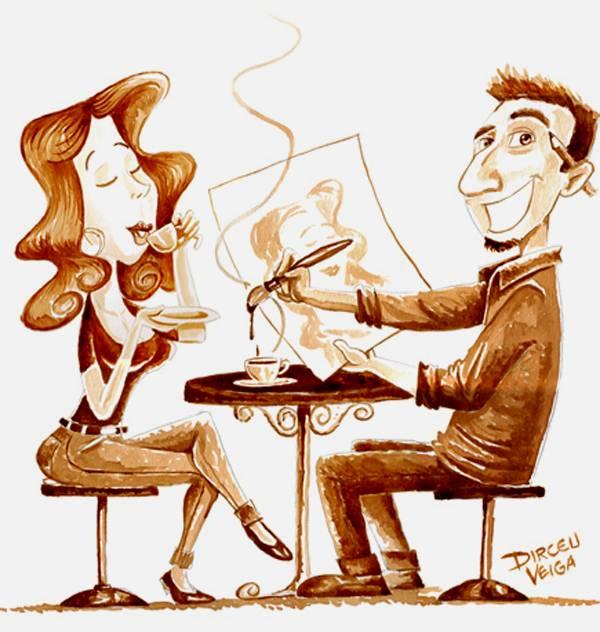 الرسم بمشروب القهوة Coffee Paintings image049-796101.jpg