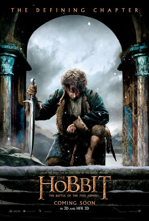 The Hobbit: The Battle of Five Armies teaser poster