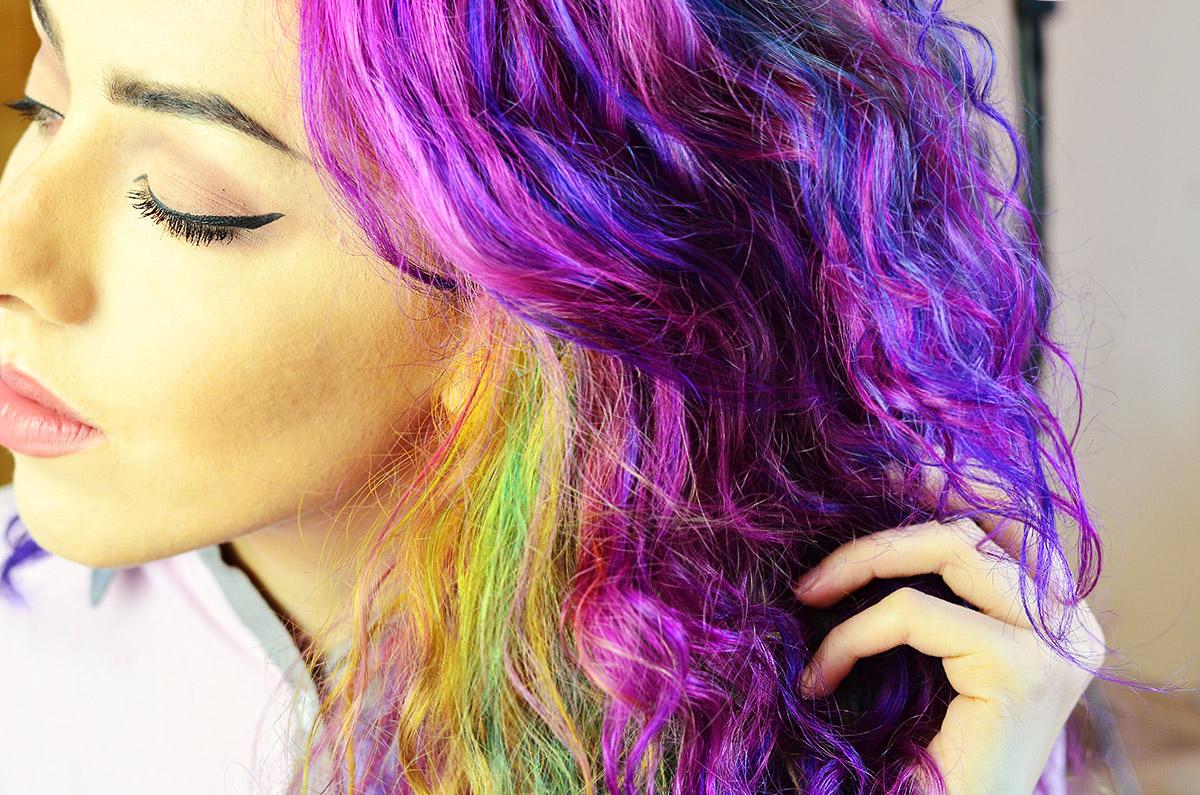 Rainbow Hair Fudge Urban Paintbox Colours Review