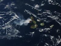Fernandina's Core Erupting in 2009, Galapagos