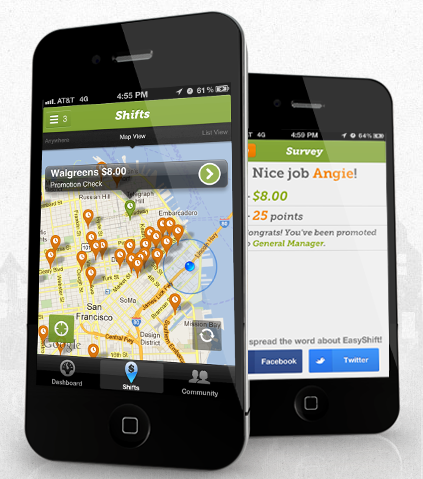 EasyShift Top 2013 Smartphone Apps To Earn Money