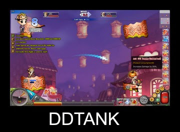 ddtank-jogo de navegador parecido com gunbound