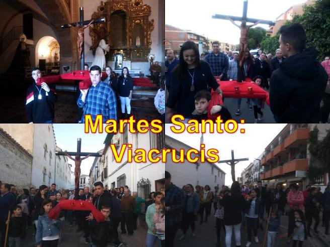 MARTES SANTO: VIACRUCIS