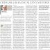Curs 2014-15: ESCALFANT MOTORS. Article d'opinió de CCOO Educació al Diari de Girona (Suplement Aula) del dimarts, 16 de setembre de 2014