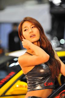 Park Si yeon Korean Actress In 2010 Korea Tuning Show 6