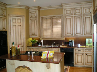 Glazing Kitchen Cabinets