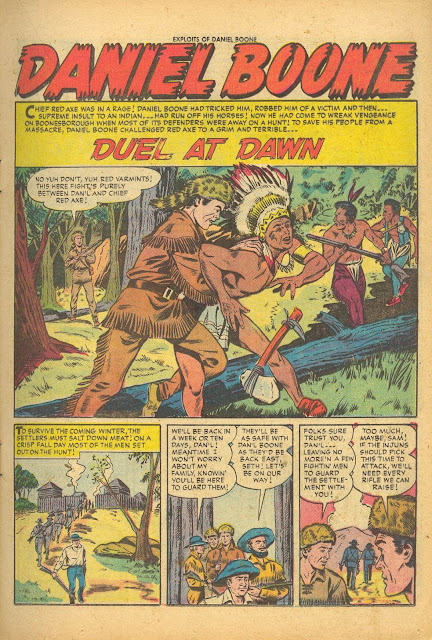 Exploits of Daniel Boone 2 splash, 'Duel at Dawn'