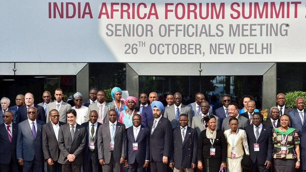 India-Africa Engaged in Struggle to Eliminate Poverty
