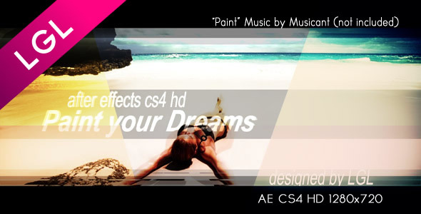 VideoHive Paint Your Dreams