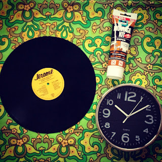 LP klok DIY Vinyl clock how to tutorial wat heb je nodig