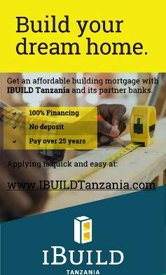 FINANCE & BUILD YOUR DREAM HOME WITH iBUILD TANZANIA