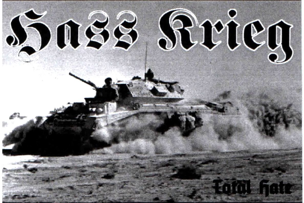 Hass Krieg - Total Hate [Demo] (2010)