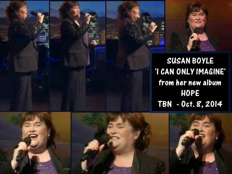 Susan Boyle on TBN, Oct 8, 2014