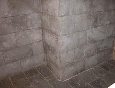 Revetimiento con piedra artificialher ldica y artesan a - Losas de exterior ...