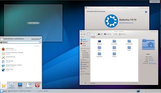 Kubuntu 14.10 Plasma 4