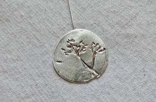 Liz's fennel pendant