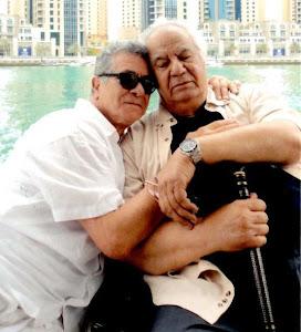 تصویری زیبا از ناصر ملک مطیعی و بهروز وثوقی