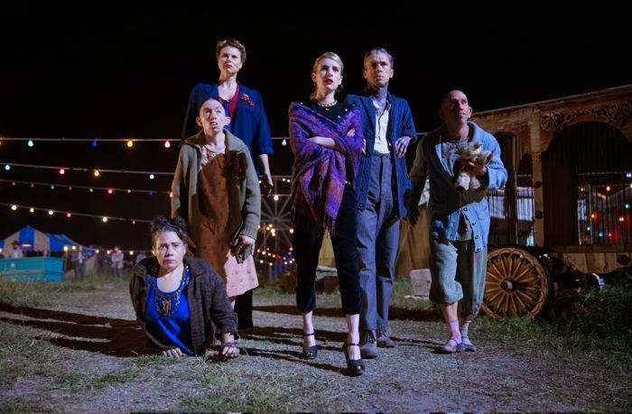 AHS Freakshow cast