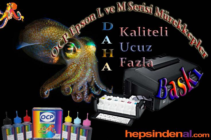 OCP Epson L ve M Serisi Mürekkep
