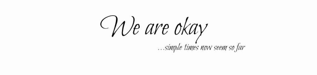 We are okay...