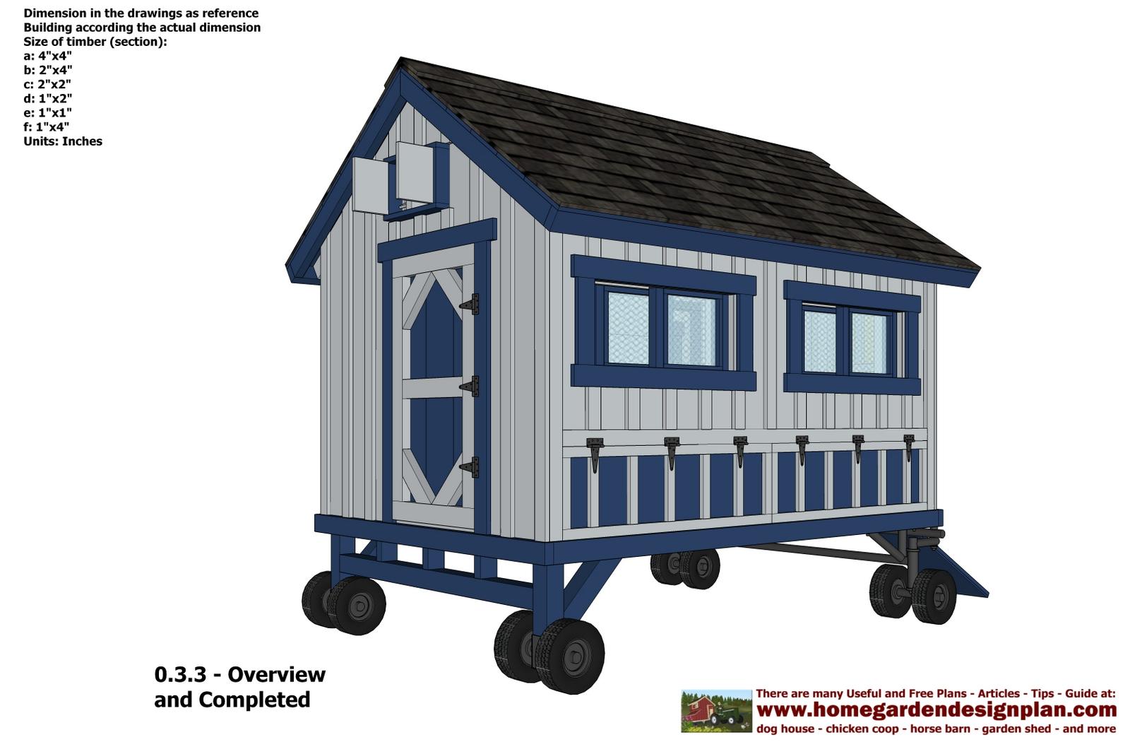 Organizer free chicken tractor plans pdf coop adventure for 3 chicken coop