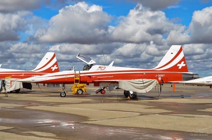 F 5 Patrulla acrobatica Suiza