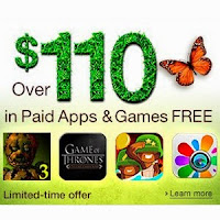 Amazon App Store: Buy 38 Free Android Apps & Games worth upto $110