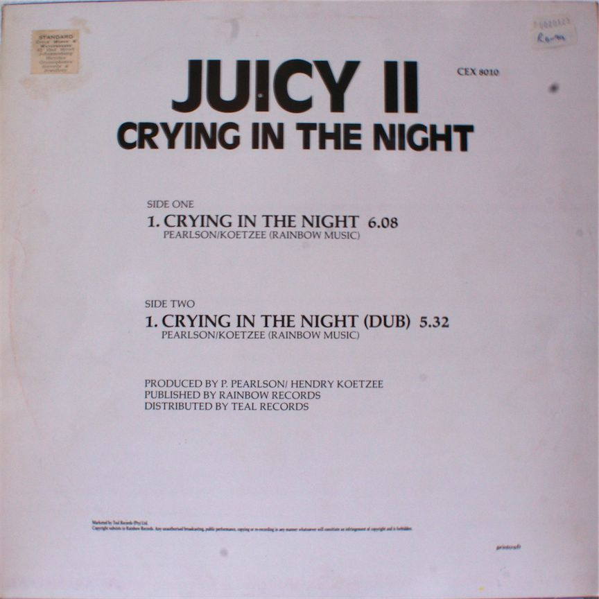 Juicy II Crying In The Night
