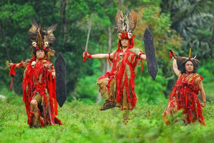 Kabasaran a Traditional Minahasa Dance in North Sulawesi ...