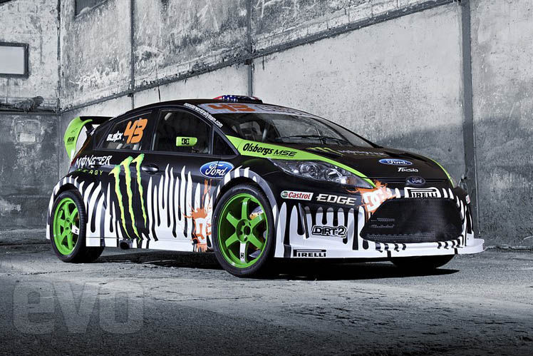 img21 new ken block ford fiesta rs wrc 2011. Cars Review. Best American Auto & Cars Review
