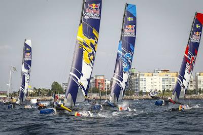 La Red Bull Foiling Generation à Malmo - Suède