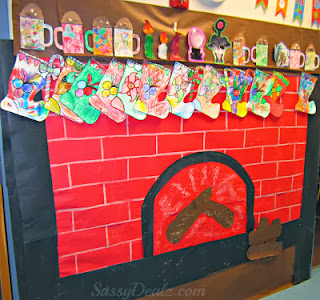 List of Christmas Bulletin Board Ideas for the Classroom - Crafty ...