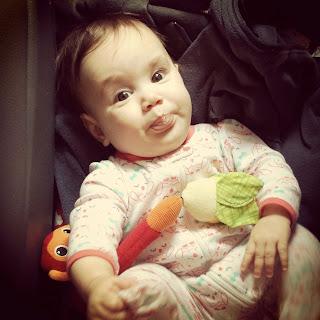 Sweet Anna at 5.5 Months