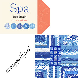 Moda SPA Quilt Fabric by Deb Strain