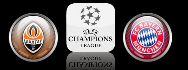 Shakhtar Donetsk Vs Bayern München