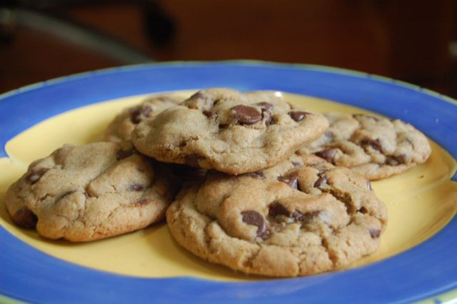 The Clay Rosary Girl: The Secret to Soft, Chewy Chocolate Chip Cookies